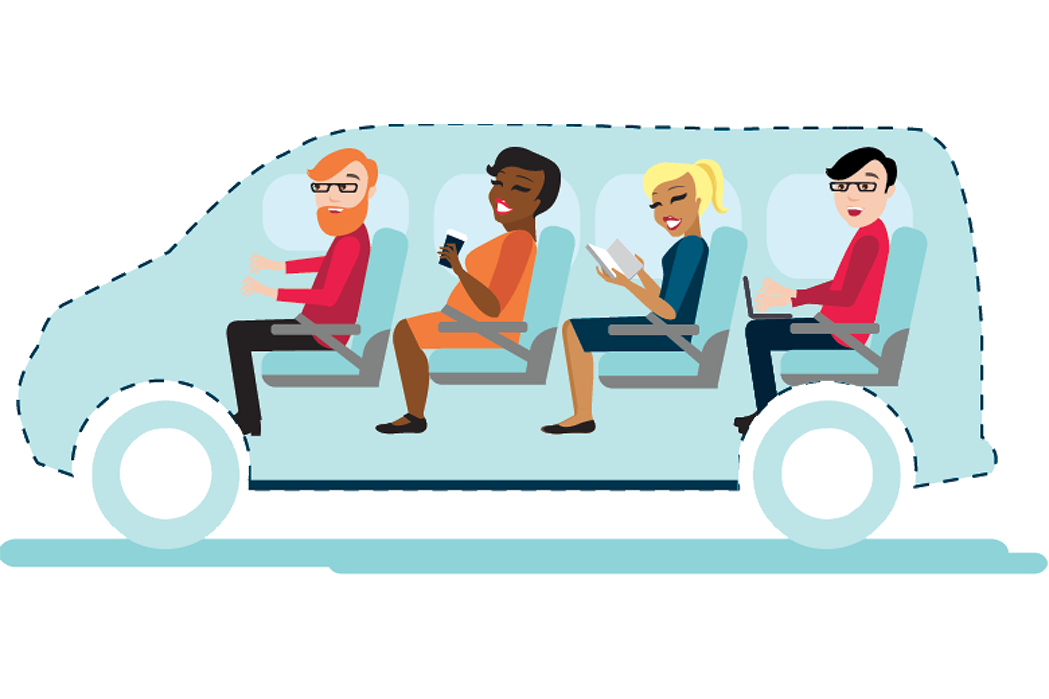 Vanpool Graphic