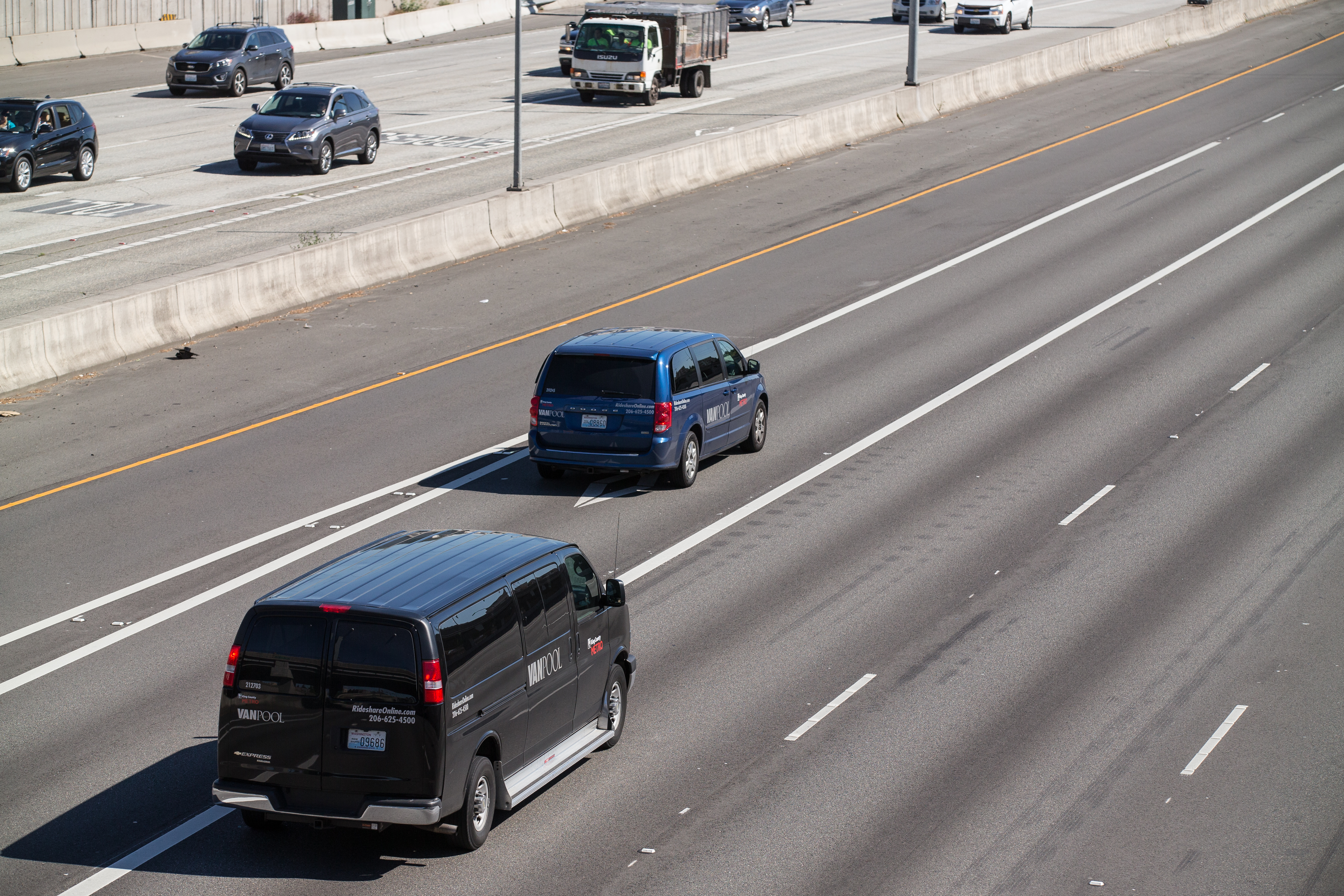 vanpool freeway
